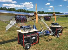 Dale Kramer invigorated the ultralight movement in the with the Lazair. Now he's doing it again—with a battery-powered version. By Dean Sigler. Electric Aircraft, Fly Plane, Electric Power, Model Airplanes, Cloud 9, Air Show, Alternative Energy, Monster Trucks, Planes