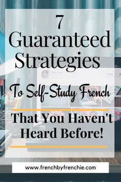 If you think that to self-study French is not possible, think again. With the tons and tons of resources, books and apps available, it is easy to do and totally achievable. Just taking into account a couple of things to learn French, or any language, faster, will help you to develop the skills necessary to achieve your language goals, fast. Repin this and read it. Why Learn French, Learn French Free, Learn French Online, Learn French Beginner, French For Beginners, How To Speak French, French Language Lessons, French Language Learning, French Lessons