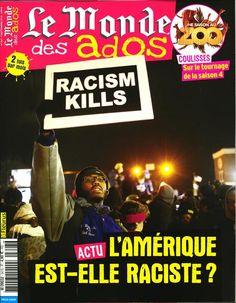 Le Monde des Ados n°347 : l'Amérique est-elle raciste ?