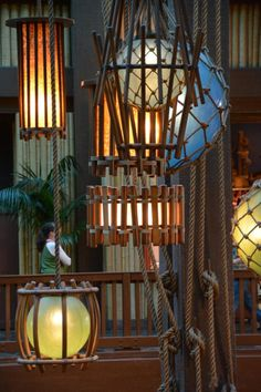 Today S Disney Photo Yet Another Of Lights At Polynesian