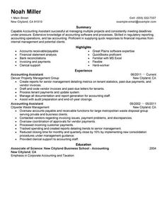 Accounting Assistant Resume Captivating Resume Examples Manager 2014  Bing Images  Resume Examples No .