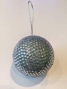 HomeDecor / Vianočná guľa - bling