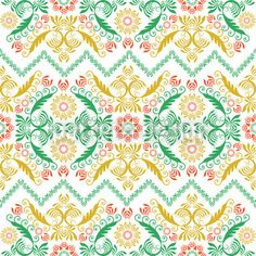 Buy Seamless Classic Pattern by yakdesigner on GraphicRiver. Pattern classic vector, Easy to use. ZIP file included : EPS (CMYK vector file= you can use any size you want. Eps Vector, Vector File, Vector Pattern, Surface Design, Embellishments, Flora, Shapes, Quilts, Flower Frame