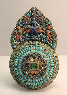 Tibetan turquoise ring~