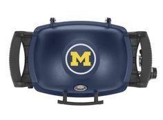 This Weber® Q® 1200™ College Edition Grill will be on the wish list of every Michigan fan!
