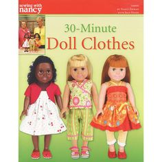 Sewing Doll Clothes, American Doll Clothes, Crochet Doll Clothes, Sewing Dolls, Girl Doll Clothes, Doll Clothes Patterns, Doll Patterns, Girl Dolls, Baby Dolls