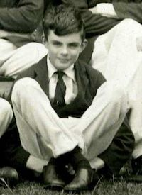 Alan Turing in 1927, from Westcott House photograph ©Sherborne School | @AlanTuringYear | #AlanTuringYear