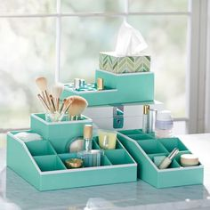 Jane Beauty Collection, 9 Compartment Organizer $35 from PB teen
