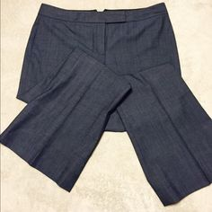 "Elie Tahari charcoal gray slacks - size 8 A beautiful pair of business slacks by Elie Tahari.  Worn 2 or 3 times so they are in ""like new"" condition. Tahari Pants"