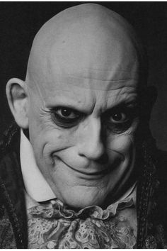 uNCLE FESTER addams family retro poster