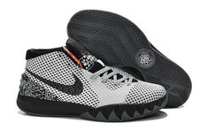 100% authentic d45ee 81443 Boy Kyrie 1 Young BHMWhite Black Dark Grey 718820 100 Football Shoes,  Basketball Sneakers,