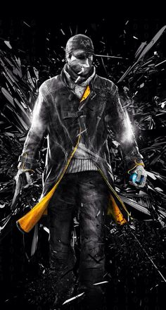 IPhone S Watch dogs Wallpapers HD Desktop Backgrounds x