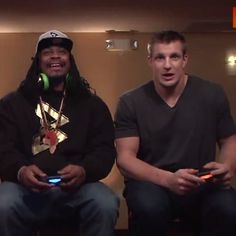 Pin for Later: You'll Want to Be Marshawn Lynch's Best Friend After Watching This