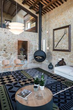 Antrax IT riscalda un casale di fine '800 a Girona