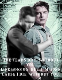 The tears dry, without you. Life goes on, but I'm gone. Cause I die, without you. Without You from RENT Okay.so I cried a bit when I made this, but I . Without You -Jack and Ianto- Jack Harkness, John Barrowman, Without You, Torchwood, Life Goes On, Doctor Who, Spin, Deviant Art, Movie Posters