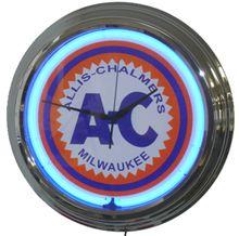 Allis Chalmers Tractor Neon Clock