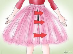 How to Make a Tulle Tutu. Whether you're an aspiring ballet dancer or just want to pretend to be one for Halloween, this article will show you how to make your own voluminous tutu from tulle. Get your tulle. Being so sheer, a lot of tulle.Comment faire un Diy Robe Tulle, Diy Tulle Skirt, Tulle Skirt Tutorial, Robes Tutu, Tulle Dress, Tutu Sans Couture, Tutu Dresses, Girls Dresses, Tutu Skirts