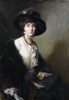 Vita Sackville-West | Portrait of Vita Sackville-West by Philip de Laszlo, 1909. ©NTPL/John ...