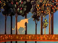The Last Unicorn -America The Last Unicorn Movie, Happy Magic, Unicorn Mom, Life Drawing Classes, Unicorn Pictures, Silhouette Painting, Aristocats, Magical Creatures, Painting Inspiration