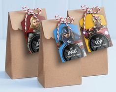 Iron Man Printable Lollie Bag Tags - Edit & Print as many copies as you like / Iron Man Loot Bag Tags / Ironman party / Avengers Lollie Bags Avengers Birthday, Superhero Birthday Party, Ironman Birthday, America Themed Party, Hulk, Lolly Bags, Ideas Para Fiestas, As You Like, Party Invitations
