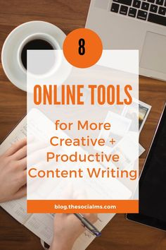 """Creative"" and ""productive"" are sometimes mutually exclusive concepts when it comes to content writing. These tools can help you with your content writing. Content Marketing Tools, Online Marketing Tools, Cool Writing, Writing A Book, Writers, Schedule, Vacation, Robert Pattinson, Creative"