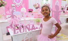 Veja no site da Faz de Conta as fotos da Decoração Bailarina feita para a Luna Amora