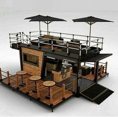 Container Bar, Container Home Designs, Container Coffee Shop, Container Flowers, Cafe Shop Design, Kiosk Design, Cafe Interior Design, House Design, Signage Design