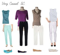 Very casual SC by ithinklikeme on Polyvore featuring polyvore, moda, style, Ann Taylor, Armani Jeans, Fabrizio Gianni, Gloria Vanderbilt, Nine West, women's clothing, women's fashion, women, female, woman, misses, juniors and kibbesoftclassic