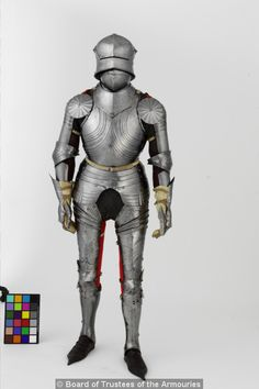 Composite field armour in the Gothic style. German, about 1480
