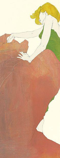 A blank page by Ko. machiyama