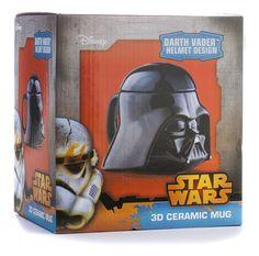 Star Wars - Darth Vader 3D-Keramiktasse www.coole-gadgets.com