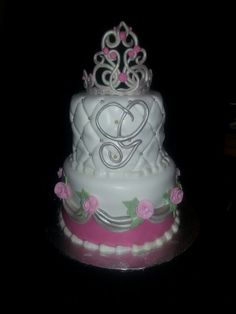 Princess baby shower cake facebook.com/terrycakessparks