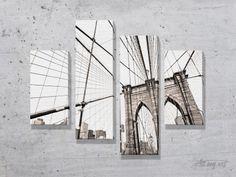 Модульные картины мосты. #картина #модульнаякартина #декор #интерьер #дизайнинтерьера #уют #атмосфера
