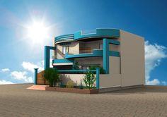 Design by muzammil-ahmed on DeviantArt Home Design Blogs, 3d Home Design, House Design, Wedding Album Design, Wedding Albums, Diy Shoe Storage, Modern Bungalow, Smart Home, Interior