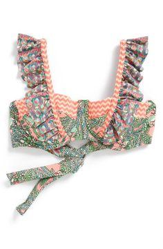 Maaji 'Coral Waves' Ruffle Bikini Top