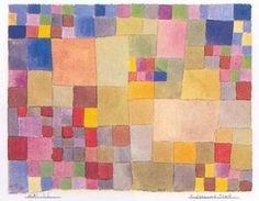 Paul Klee - Fleurs sur le sable .*