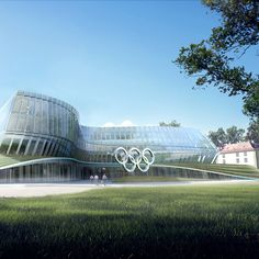 Danish firm 3XN has shown the first images of its design for the new headquarters of the International Olympic Committee in Lausanne, Switzerland