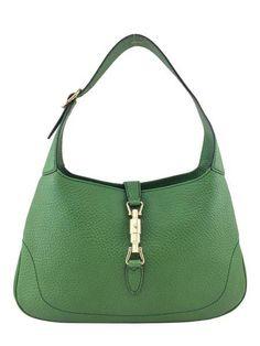 Gucci Vintage Leather Jackie O Bouvier Medium Hobo Bag