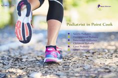 Looking for a podiatrist in Point Cook? Sole Motion Podiatry clinic based in Point Cook, Melbourne offering various podiatry services such as sport podiatry, sport massage, laser podiatry, and kid's podiatry across Melbourne.