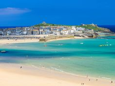 Exploring the coastal Cornish town of St Ives? Check out our guide to the best things to do, see, eat and drink, from Cornish pasties to Tate St Ives. St Ives Cornwall, Devon And Cornwall, St Ives Beach, Brittany Ferries, Beach Wall Murals, Cornwall Beaches, South West Coast Path, Snowdonia National Park, Beach Wallpaper