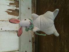 Velveteen Rabbit. From my own pattern. I love how this turned out!