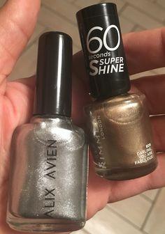 Alix Avien 231, Rimmel London 809, darling you are fabulous #oje #gold #silver