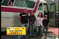 """an alternative american dream: life on the road with the """"BareNaked Family"""""""