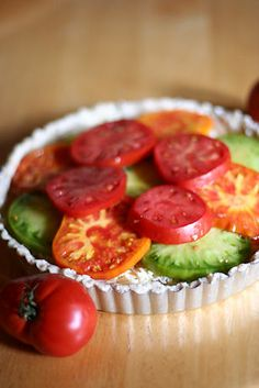 cheesy-tomato-tart @Sarah Downs
