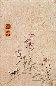 (Korea) by Gang Se-hwang (1713- 1791). Joseon Kingdom, Korea. color on paper. Korean painting.