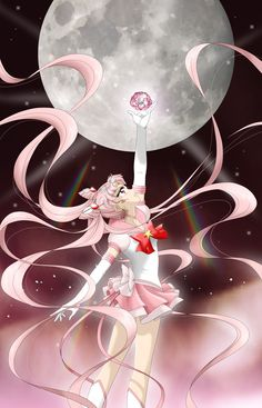 Sailor Moon Pink Crystal by Mangaka-chan.deviantart.com on @deviantART