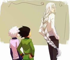 Killua, Gon, and Kite ~Hunter X Hunter