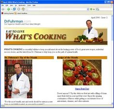 dr fuhrman cooking