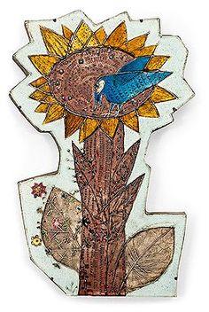 Rut Bryk - Artist, Fine Art Prices, Auction Records for Rut Bryk Pottery Sculpture, Pottery Art, Define Art, Hand Built Pottery, Wooden Flowers, Mid Century Modern Art, Glass Ceramic, Ceramic Artists, Wall Plaques