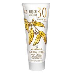 Australian Gold Botanical Mineral Sunscreen Lotion SPF30 5 oz : Target